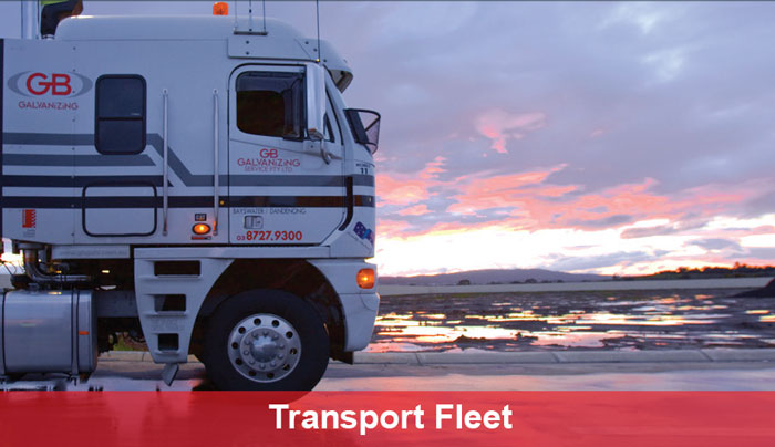 GB Galvanizing Transport Fleet