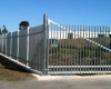 Galvanized area fencing corner
